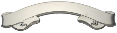 Chrome Scroll Plate 160mm