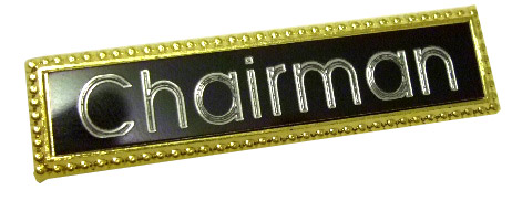 Heavy Duty Bar Badge