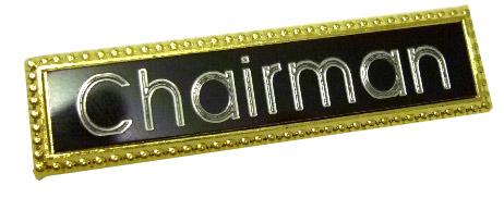 Heavy Duty Bar Badge