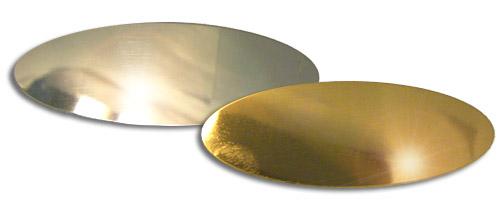 Oval Jewlers Brass 65mmx22mm