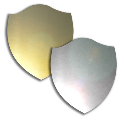 Rounded Top Shield 39mm x 34mm