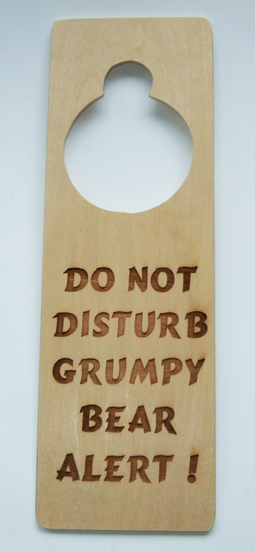 Door Handle Plaque