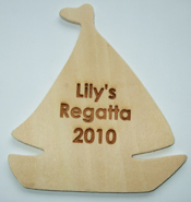 Boat Wooden Plaque