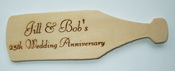 Celebratio Bottle Wooden Plaque