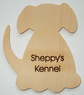 Dog Wooden Plaque